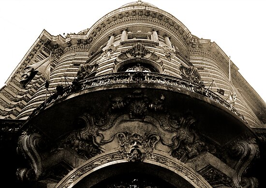 Building Facade Buenos Aries by Juilee  Pryor