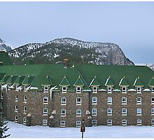 Banff Springs Hotel by John Heil