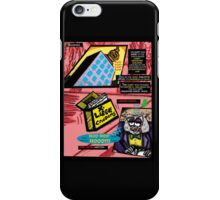 Bird of Steel Comix - Page #3 of 8 (Red Bubble POP-ART COLLECTION SERIES)   iPhone Case/Skin