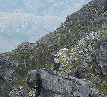 going down Mt Murchison - photo taken by Mark Dwyer (not me) - Tasmania by gaylene