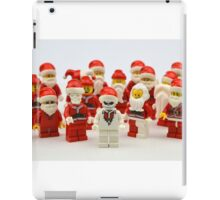 """Santa Showdown """"There Can Be Only One"""" iPad Case/Skin"""