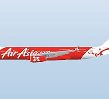 Wings In Uniform - A330 - Air Asia by nADerL