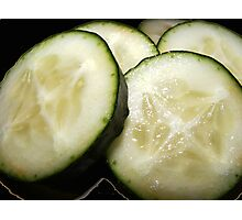 Cool As A Cucumber Photographic Print
