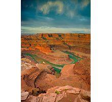 Dead Horse Point-Utah- Colorado River Photographic Print