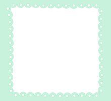 Lolita Mint Green Kawaii Border by MLPDarkAngel