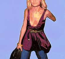 I'd give my left arm to be part of the cultural elite. (Nicole Richie) by Ken  Wentworth