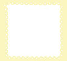 Lolita Yellow Kawaii Border by MLPDarkAngel