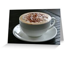 Coffee Obsession Greeting Card