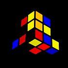 Broken Rubix Cube by JoshNorthrup