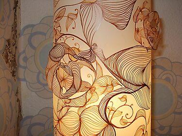 Handmade Paper Lamp +