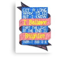 Patent Pending - Brighter Canvas Print