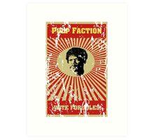 Pulp Faction - Jules Art Print