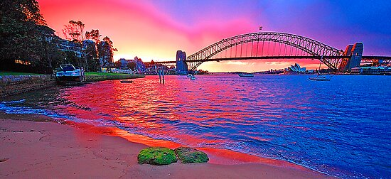 Right Place Right Time -Revisted , Sydney Harbour, Australia by Philip Johnson
