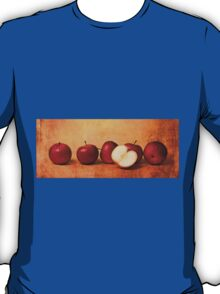 Apples In Red T-Shirt