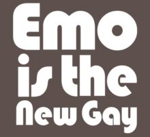 Emo is the new gay by rudeboyskunk