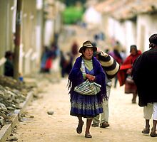 A street in Bolivia by Phillip  McCordall