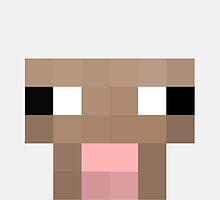 Sheep Minecraft by janeemanoo