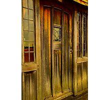 The Manor door Photographic Print