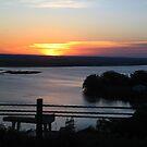 Nebraska Sunrise over Lake McConaughy by lareejc