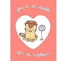 Catbus Valentine Photographic Print
