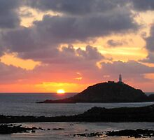 Scilly Sunset by Roantrum