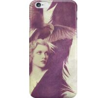 The Lady of Ravens surreal artwork iPhone Case/Skin