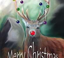 Rudolph by stellawilcox