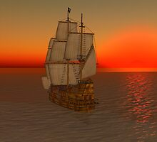 Tall Ship by Shoshana Epsilon