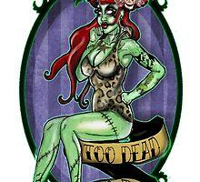 Zombie voodoo pin up  by missmisfit