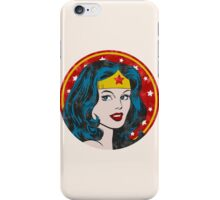 Princess Diana of Themyscira (Vintage) iPhone Case/Skin