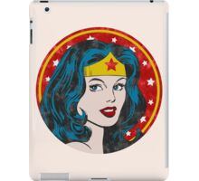 Princess Diana of Themyscira (Vintage) iPad Case/Skin