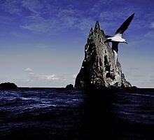 The bird, the sea and the pyramid by Ashley Ng