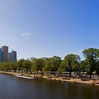 Melbourne Panorama by Lachlan Doig
