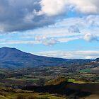 Monte Amiata and Radicofani, Val d'Orcia, Tuscany Italy by Andrew Jones