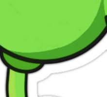 Plants vs Zombies: Peashooter Cartoon Sticker