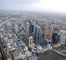 Up Over Melbourne by Clare McClelland