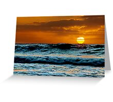 """Morning Has Broken"" Greeting Card"