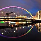The Glasgow Clyde Arc Bridge by Grant Glendinning
