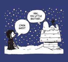 Charlie Snow/Jon Brown and his dog/Direwolf T-Shirt