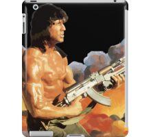 Rambo. Against the world. iPad Case/Skin