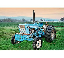 The Ford Tractor Photographic Print