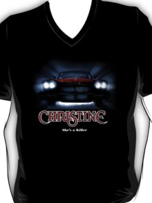 Amazing black transparency. Christine. A real killer. T-Shirt