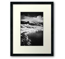Infra-Red Lake Framed Print