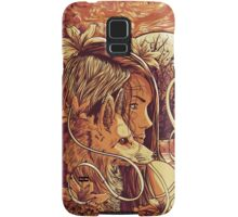 orange fox Samsung Galaxy Case/Skin
