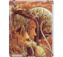 orange fox iPad Case/Skin