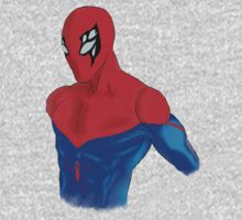 Spider-Man Alternative Suit Design Bust (White) Kids Clothes