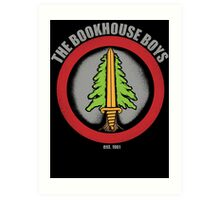 The Bookhouse Boys - Twin Peaks Art Print