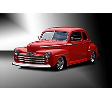 1947 Ford Deluxe Coupe 'Studio' Photographic Print