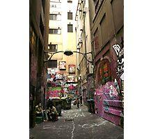 Graffiti lane, Melbourne Photographic Print