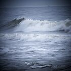 Waves Of The Atlanta Ocean Atlantic Beach Florida by Susan Junkins